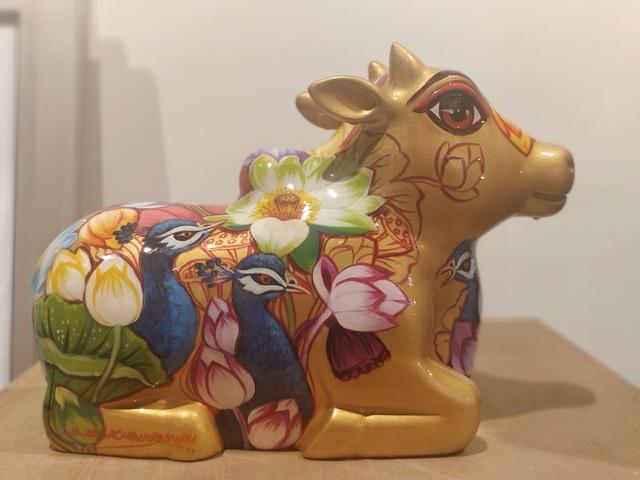 Sachindra Nath Jha, 'Nandi', Art Pilgrim
