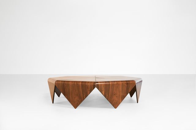 ", 'Coffee table model ""Petala"",' 1960, Side Gallery"