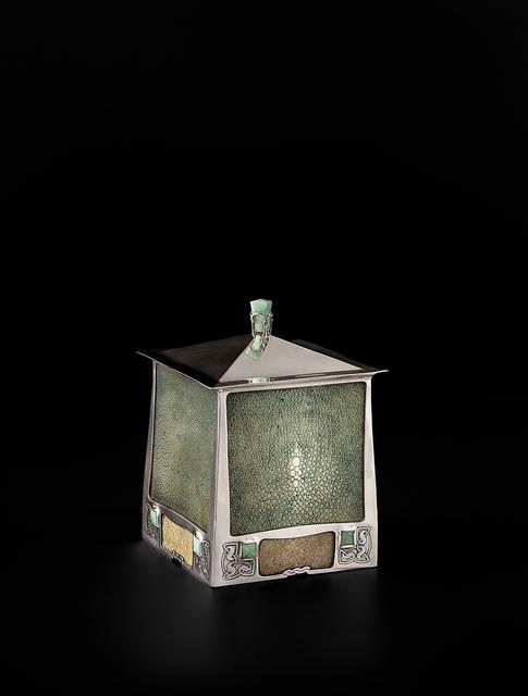 , 'Tobacco box,' 1901, Oscar Graf