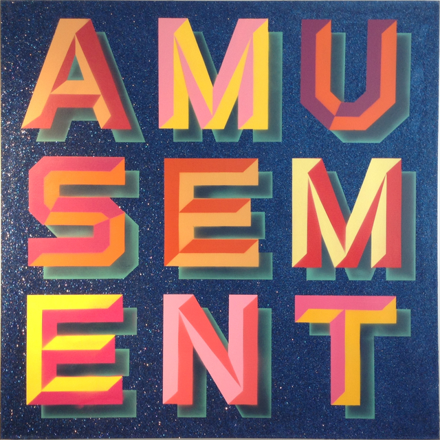 , 'Amusement (Blue glitter),' , MUCA