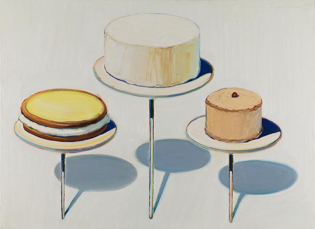 , 'Display Cakes,' 1963, San Francisco Museum of Modern Art (SFMOMA)