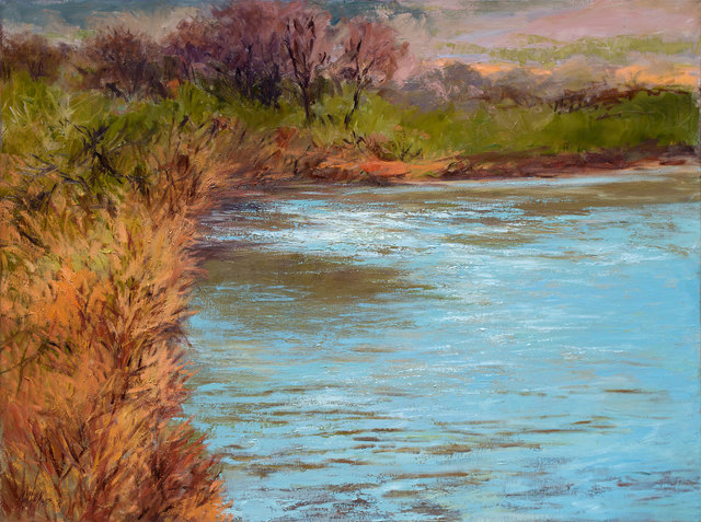 , 'Bend in the River,' 2018, Owen Contemporary