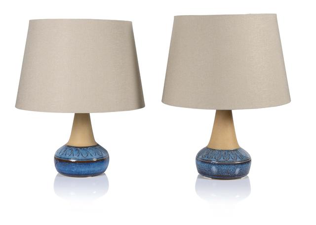 Soholm Stentoj, '2 lamps', Circa 1960, Aguttes
