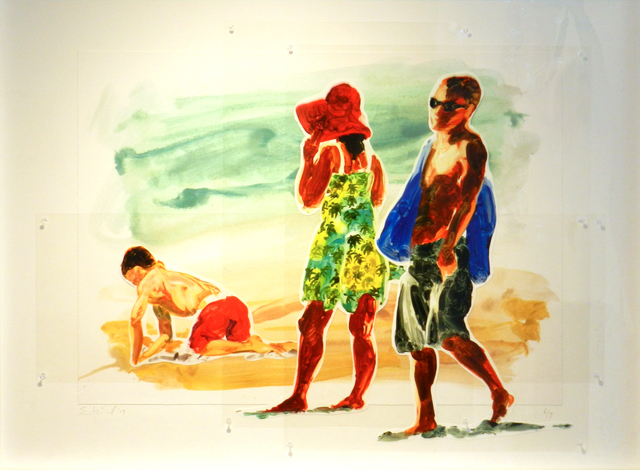 , 'Man, Woman, and Boy,' 2017, William Campbell Contemporary Art, Inc.