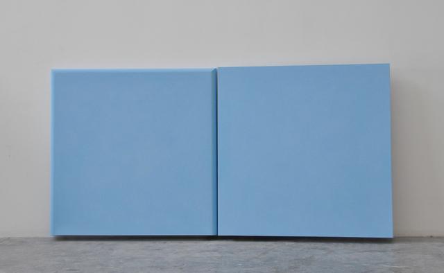 , 'Dittico azzurro, toro,' 2014, Vistamare