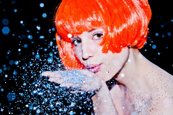 Tyler Shields, 'Dianna Argon Glitter', 2011, Imitate Modern