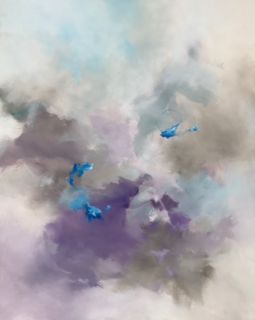 , 'Lilac Heavens,' 2018, Ginger Fox Gallery