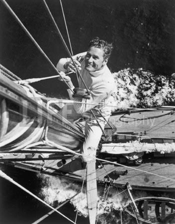 Peter Stackpole, 'Errol Flynn on His Yacht', 1941, Contessa Gallery