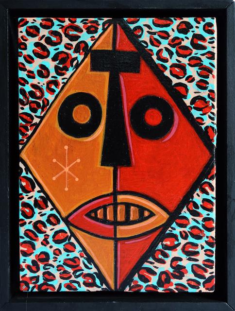 , 'Leopard Zulu Mask,' 2017, StolenSpace Gallery