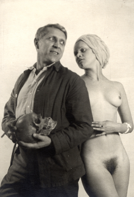 , 'Self-Portrait with Model,' ca. 1930, Charles Schwartz Ltd.