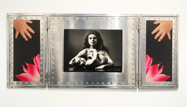 , 'Jeune femme et son fils (couleur),' 2016, Galerie Nathalie Obadia