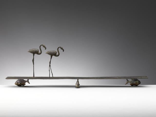 , 'Ricordare e dimenticare (Flamingos and fish),' 2015, Sladmore Contemporary