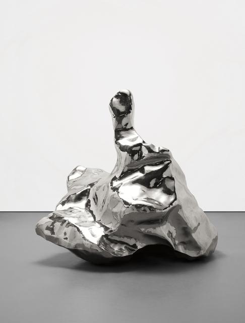 Zhan Wang 展望, 'Artificial Rock No. 40', 2001, Phillips