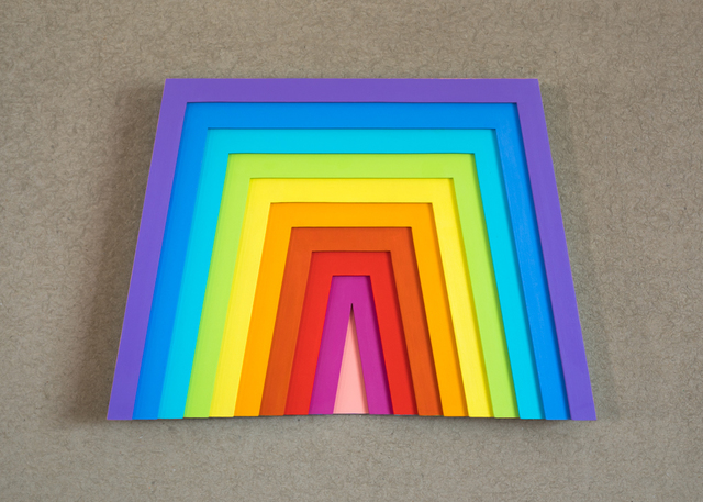 , 'Reverse Rainbow,' 2016, Conduit Gallery