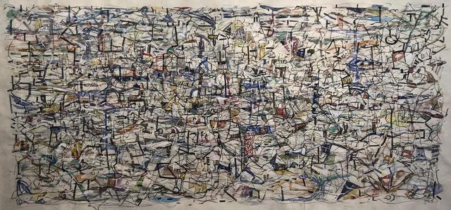 , 'Ciudad Invisible I,' 2018, le laboratoire