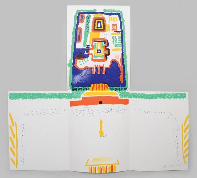 David Hockney, 'China Diary', 1982, Print, Lithograph, Lougher Contemporary