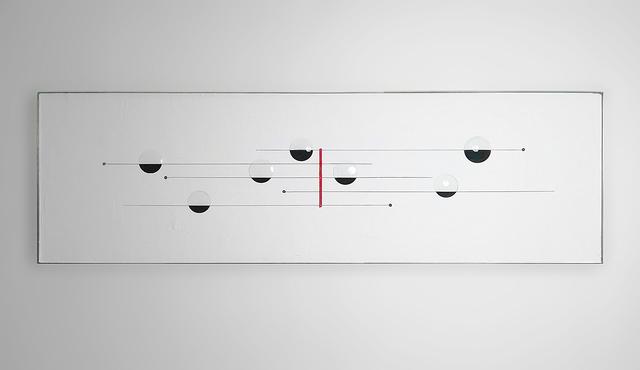, 'Weights (semitones),' 2018, Galleria Giovanni Bonelli
