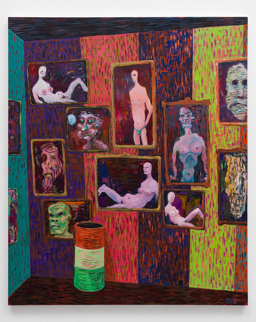, 'Night Gallery: Voluptuaries,' 2013, Richard Telles