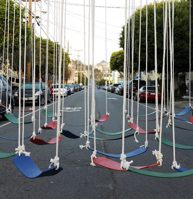 , 'Swings,' 2017, Quint Gallery