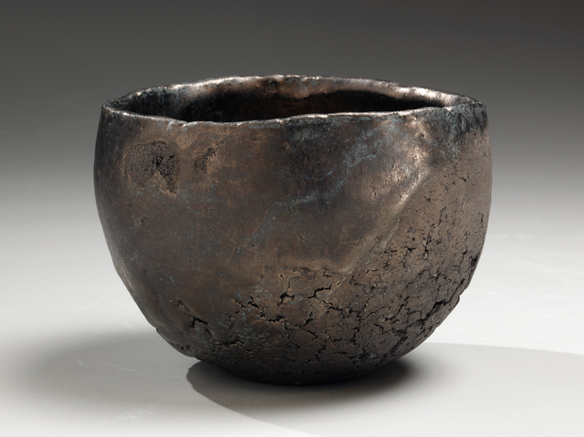 , 'Hakkinsai wan : Teabowl with Platinum Glaze,' 2009, Joan B. Mirviss Ltd.