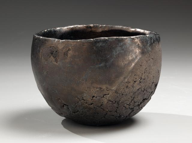 , 'Hakkinsai wan: Teabowl with Platinum Glaze,' 2009, Joan B. Mirviss Ltd.