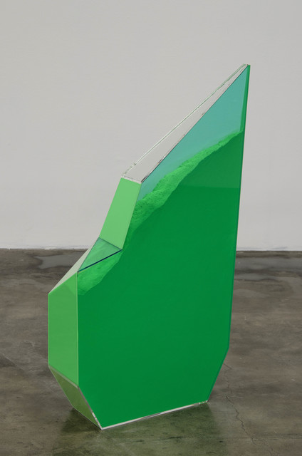 , 'Particle Dispersion: Chrome Green,' 2013, Shoshana Wayne Gallery