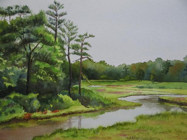 , 'Sussex Scenery,' 2017, Peninsula Gallery
