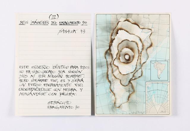 , 'Seis imágenes del fragmento 30 (Argentina) III,' 1973, Henrique Faria Fine Art