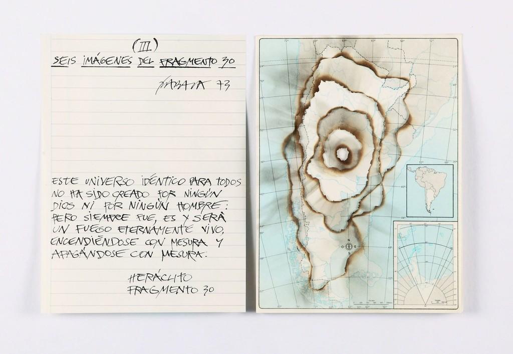 Seis imágenes del fragmento 30 (Argentina) III