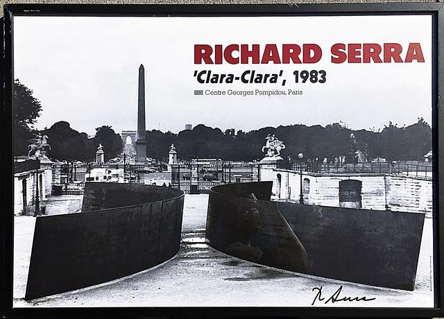 Richard Serra, 'Clara, Clara (Hand Signed)', 1983, Alpha 137 Gallery