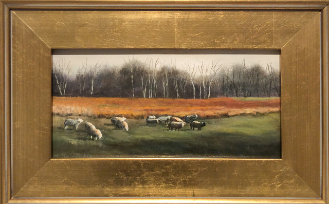 Judy Reynolds, 'Sheep Grazing, Hudson Valley', ca. 2016, Carrie Haddad Gallery