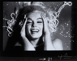 Large Format Marilyn Monroe With Jewels From The Last Sitting For Vogue