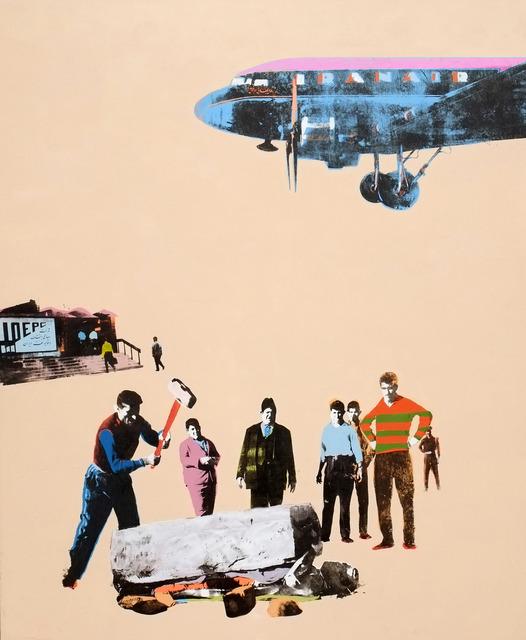Amin Roshan, 'Arena for oil', 2013, Janet Rady Fine Art