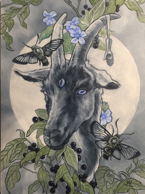 , 'Clear Sight of the Moon,' 2017, Helikon Gallery & Studios