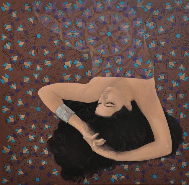, 'Lotus 2,' 2017, al markhiya gallery