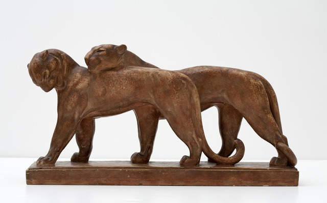 , 'Lionesses Sculpture,' ca. 1930, Maison Gerard