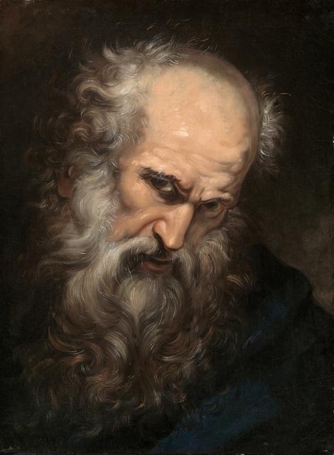 , 'Head of an Apostle,' ca. 1685, Brun Fine Art