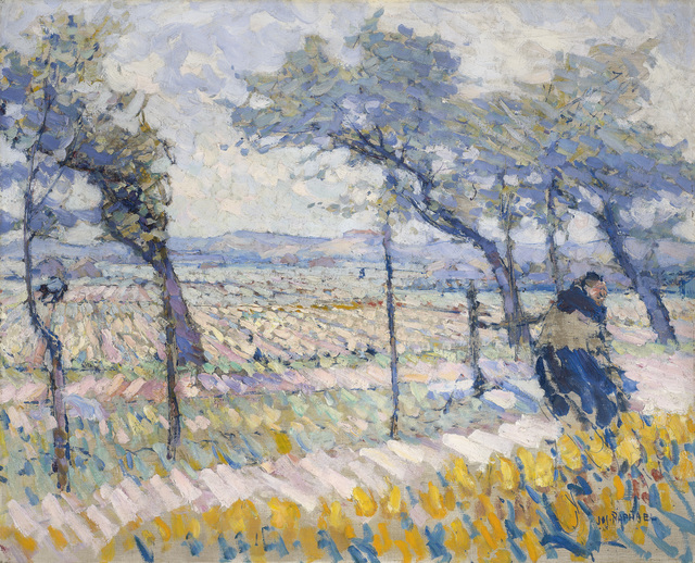 , 'Spring Winds,' 1914, de Young Museum