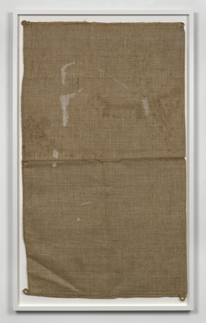 , 'Untitled (Sack #8),' 2013, Simon Lee Gallery
