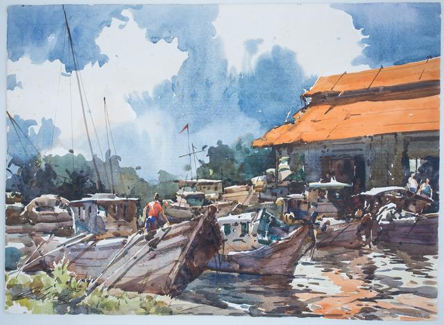, ' Melaka River,' , Ode to Art