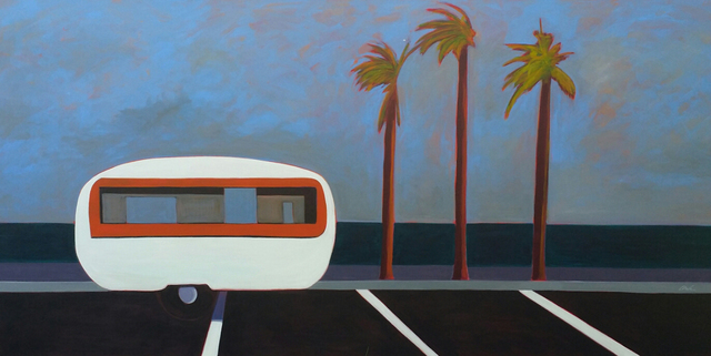 , 'LA Trailer in White,' 2016, Caldwell Snyder Gallery
