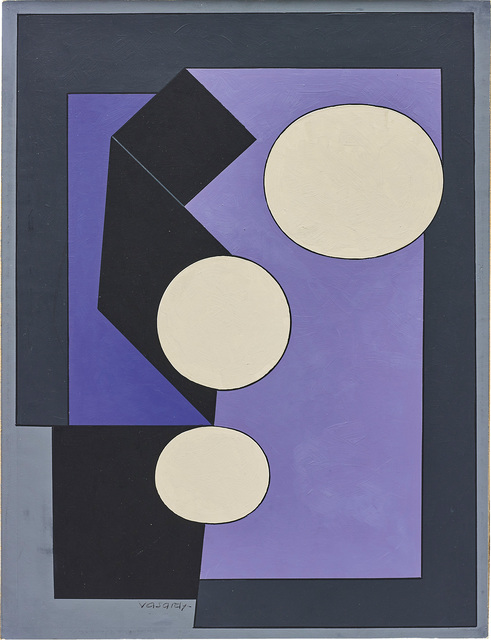 Victor Vasarely, 'Lille-A', 1950, Phillips