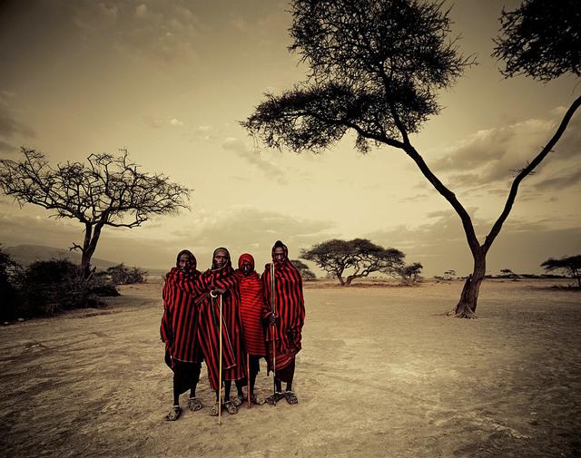 , 'VIII 462 Maasai, Ngorongoro, Serengeti Tanzania,' 2011, Absolute Art Gallery