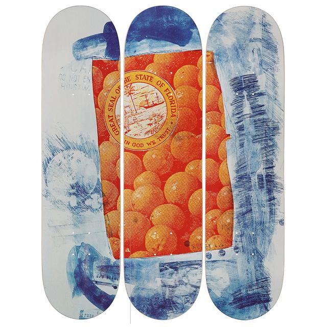 Robert Rauschenberg, 'Banner Skateboard Decks', 2017, Artware Editions