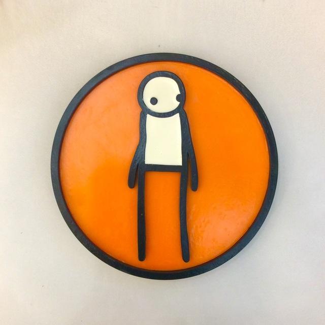 , 'Plaque (Orange),' , Rhodes