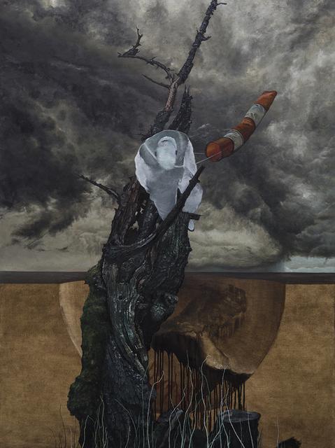 , 'Untitled (Wind And A Man),' 2017, Pékin Fine Arts