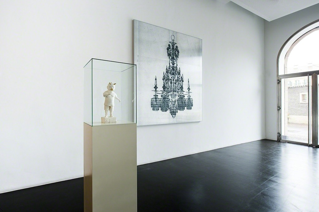Urs Lüthi & Arnold Mario Dall'O, Exhibition view, Photo: Ulrich Egger