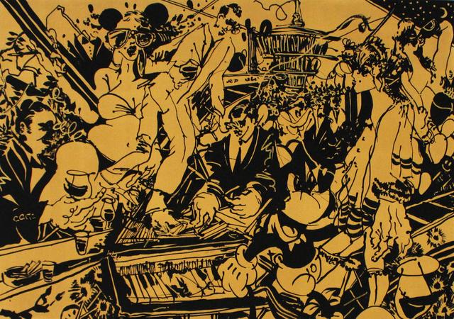 , 'Tritt aufs Klavier,' 2018, Galerie Droste