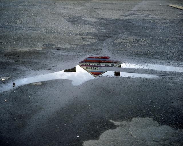 Lisa Kereszi, 'Topless bar reflected in puddle, Doylestown, Pennsylvania', 2010, Yancey Richardson Gallery