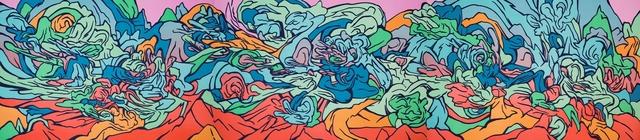 , 'After Genji,' 2017, Polígrafa Obra Gráfica